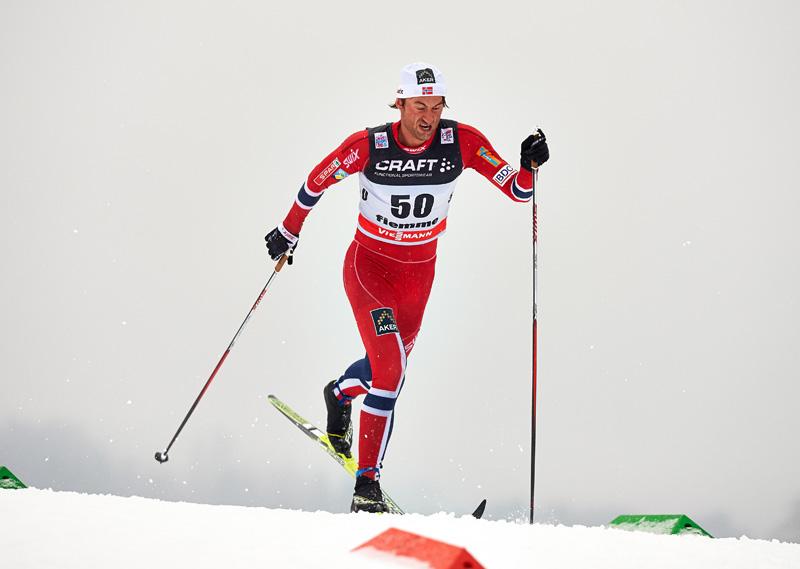 FIS world cup cross-country, tour de ski, 10km men, Val di Fiemme (ITA)